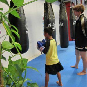 名古屋JKF キックボクシングフィットネスジム-しゅんがくん ぼくはキックがとくいです!