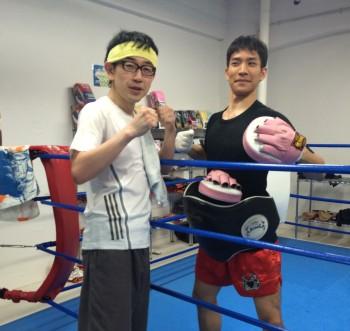 名古屋JKF キックボクシングフィットネスジム-2ヶ月放置していたのに体脂肪が下がった話