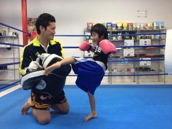 名古屋JKフィットネス キックボクシングジム-キッズ会員リュウセイくんご紹介