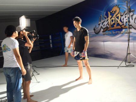 中国のTV番組にK−1レジェンド枠で招聘されました。