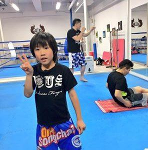 名古屋JKF キックボクシングフィットネスジム-りゅうせいくん ゲームみたいで楽しい