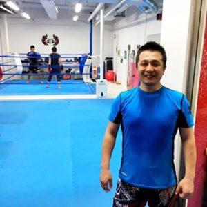 名古屋JKF キックボクシングフィットネスジム-臼井さま 自分のペースで身体を動かせる