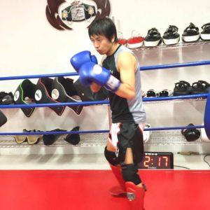 名古屋JKF キックボクシングフィットネスジム-後藤さま 気楽さの中にもしっかりとした技術