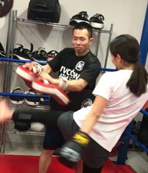 名古屋JKF キックボクシングフィットネスジム-正会員から正社員になった渡邉インストからの提案