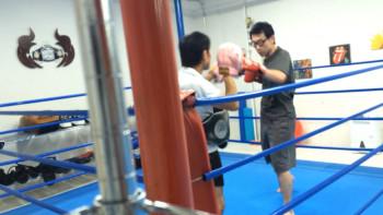 名古屋JKF キックボクシングフィットネスジム-ギリギリに行っても、対応してくれた!