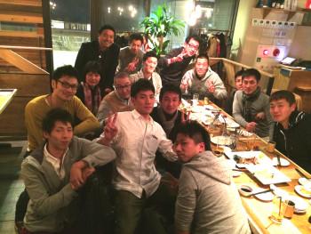 名古屋JKF キックボクシングフィットネスジム-合同新年会に参加してみました