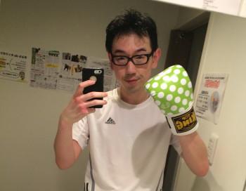 名古屋JKF キックボクシングフィットネスジム-お正月の体型に戻っていた!!