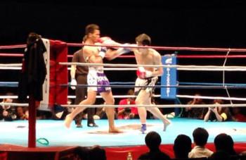 名古屋JKF キックボクシングフィットネスジム-応援ありがとうございました。佐藤嘉洋より。