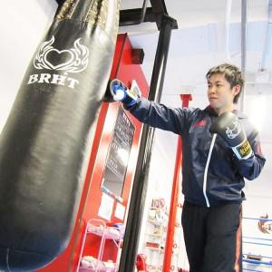 名古屋JKF キックボクシングフィットネスジム-矢野さま 運動音痴でもできました