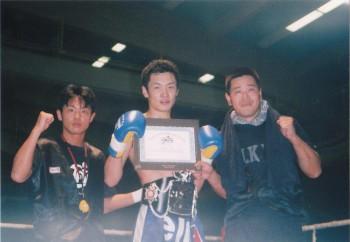 名古屋JKF キックボクシングフィットネスジム-君が代と私