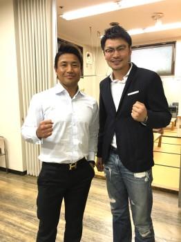 名古屋JKF キックボクシングフィットネスジム-魔裟斗vs佐藤嘉洋〜魔裟斗&佐藤嘉洋