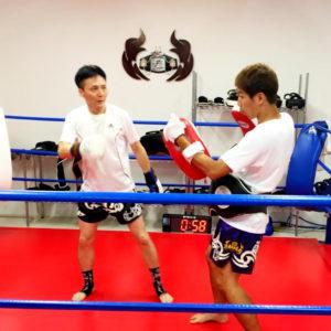 名古屋JKF キックボクシングフィットネスジム-田中さま 体験もせずに直感で入会