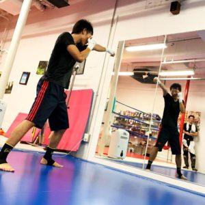 名古屋JKF キックボクシングフィットネスジム-飯間さま あまりガツガツでもなく程よく本気で