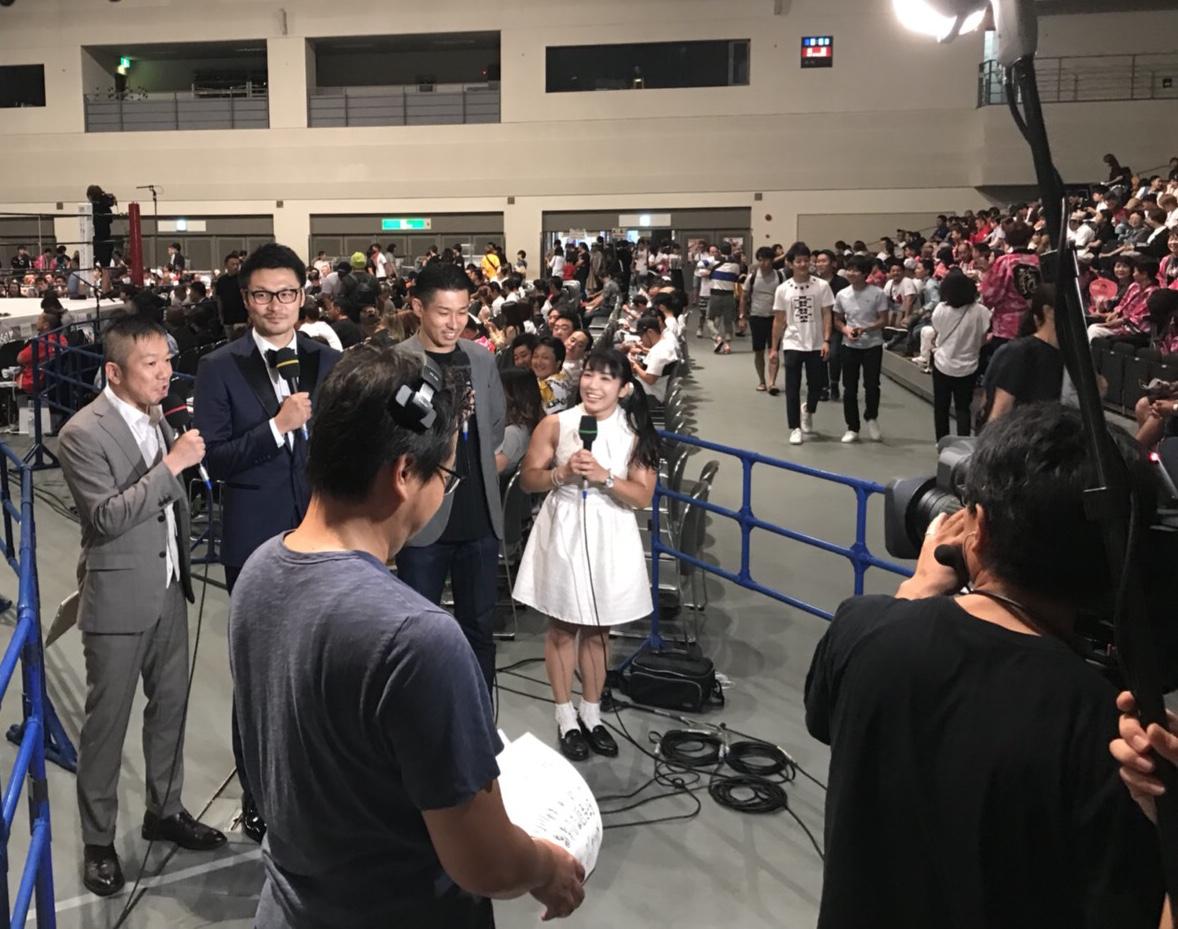 名古屋JKF キックボクシングフィットネスジム-想像を超えるところを見せるのもプロ