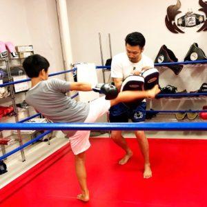 名古屋JKF キックボクシングフィットネスジム-ひろとくん キックのおかげで前より動けるようになった