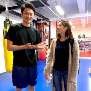 名古屋JKF キックボクシングフィットネスジム-岡田さま 雰囲気のゆるいところが気に入った