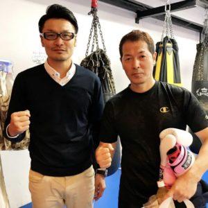 名古屋JKF キックボクシングフィットネスジム-松宮さま 中学校時代の先生です